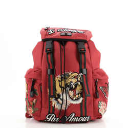 Techpack Backpack Embroidered Techno Canvas
