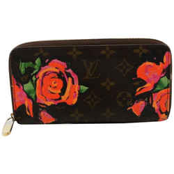 Louis Vuitton Stephen Sprouse Monogram Roses Zippy Wallet Zip Around Flowers 861910