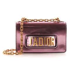 Christian Dior J'dior Metallic Flap Bag Crossbody