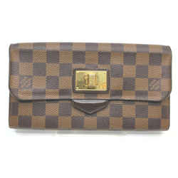 Louis Vuitton Damir Ebene Portefeuille Roseberry Wallet Long Flap 862350