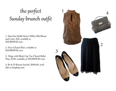 What to Wear Thursdays: Sunday Brunch Outfit