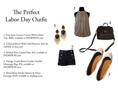 What to Wear Thursdays: Labor Day Outfit