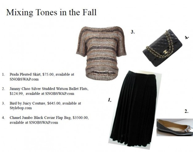 What to Wear Thursdays: Mixing Tones in the Fall