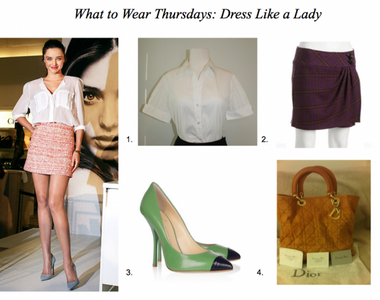 What to Wear Thursdays:  Dress Like a Lady