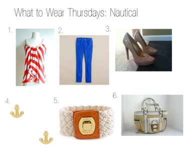 What to Wear Thursdays: Nautical