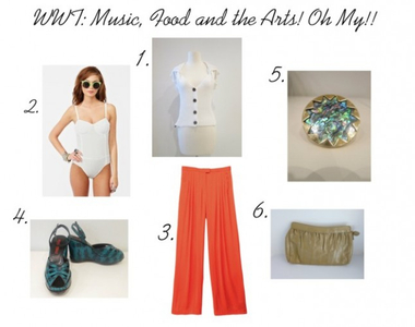What to Wear Thursdays: Music, Food and the Arts! Oh My!!