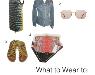What to Wear Thursdays:  Summer Brunch