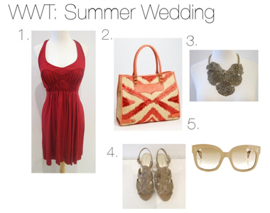 What to Wear Thursdays: Summer Wedding