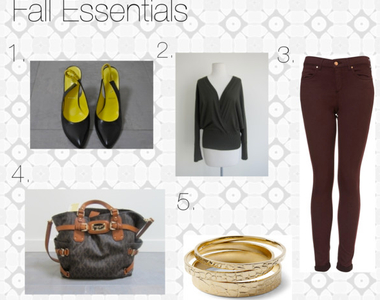 What to Wear Thursdays: Fall Essentials