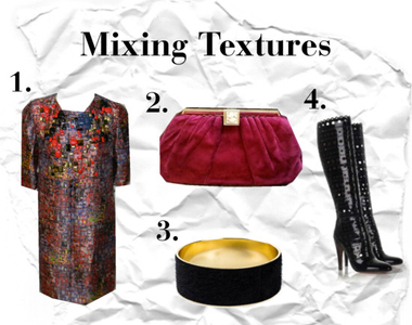 What to Wear Thursdays: Mixing Texture