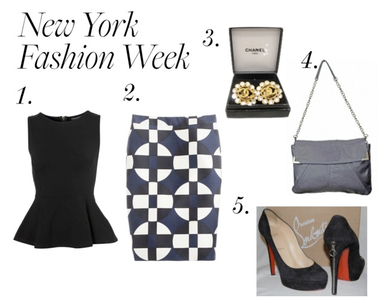 What to Wear Thursdays: New York Fashion Week