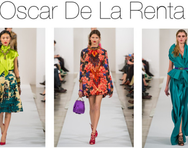 NYFW Our Favorite Looks from Oscar de La Renta