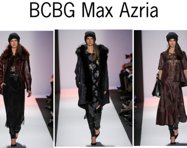 NYFW Our Favorite Looks from BCBG Max Azria