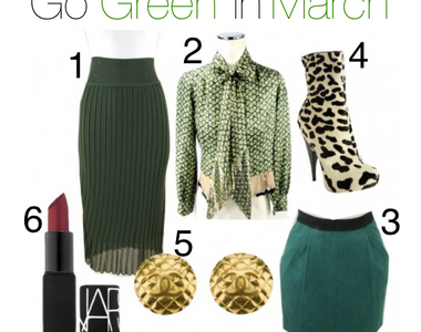 What to Wear Thursday: Go Green!