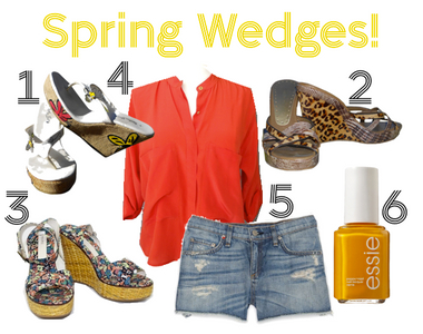 What to Wear Thursdays: Spring Wedges