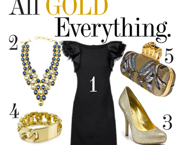 What to Wear Thursday: All Gold Everything