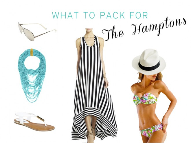 What's in my weekend bag for the Hamptons