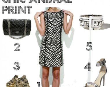 What to Wear Thursday: Animal Print Chic