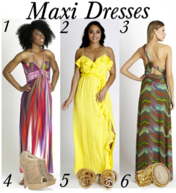 What to Wear Thursday: Maxi Dresses