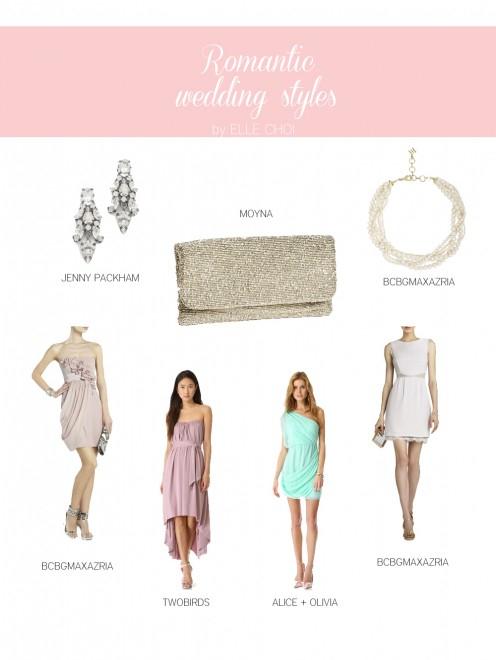 Romantic Wedding Styles