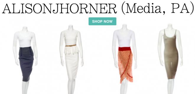 Alisonjhorner's PA's closet, designer consignment