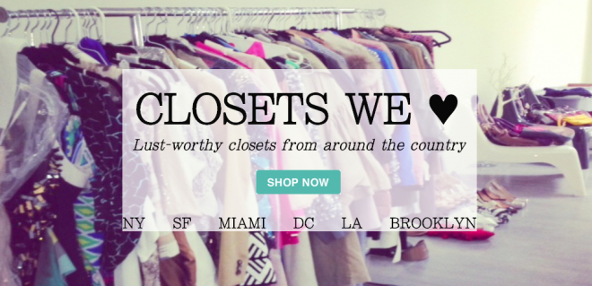 Closets we love from around the country, designer consignment