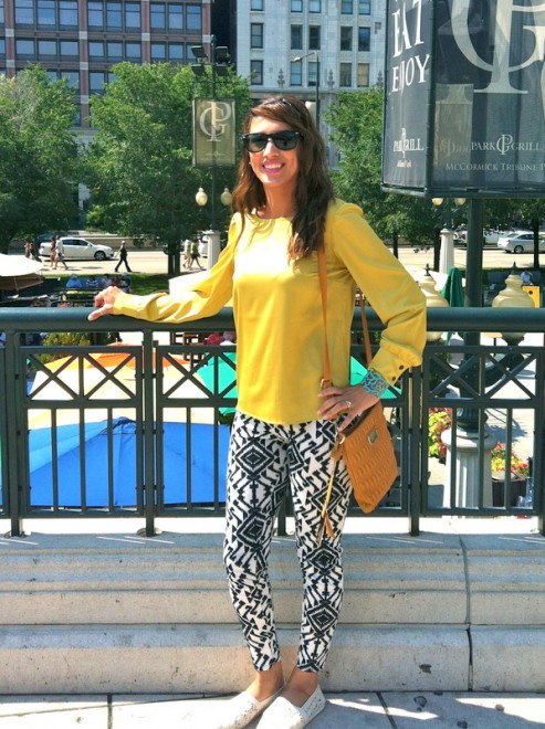 Street style in Chicago