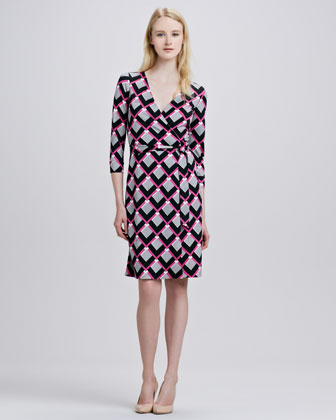 DVF iconic wrap dress investment piece