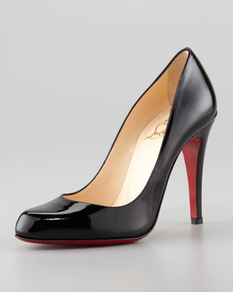 Christian Louboutin classic black pump investment piece