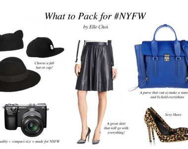 What to Pack for NYFW