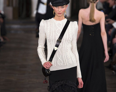 Trending: Cable-Knit Sweaters