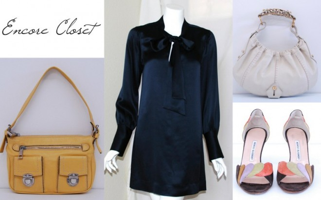 Consignment Shopping, Encore Closet, Secondhand Shoes, Preowned Handbags