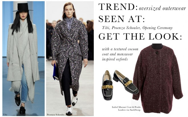 NYFW2014 Trend Oversized Outerwear