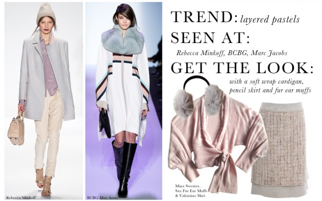 NYFW2014 Trend Layered Pastels