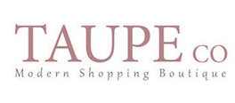 Store Launch, Store Partner, Taupe Co., Consignment, Consignment Shopping, Designer Consignment, Store Logo