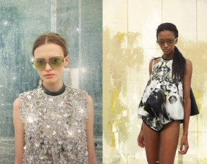 Prada Fantasy Lookbook SS10 fashion of the future