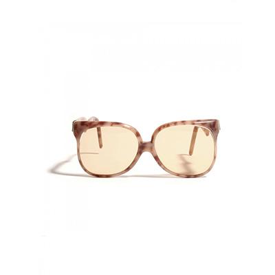 1980s Yves Saint Laurent Nougat Sunglasses