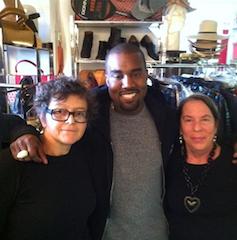 Kanye West in Catwalk Designer Vintage
