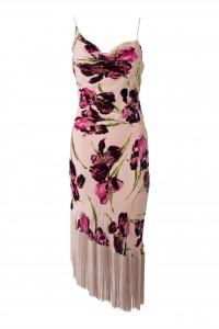 Betsey Johnson Floral Fringe Dress