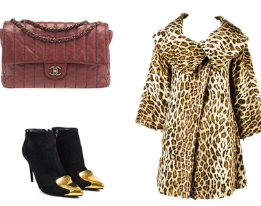 Beat the winter breeze with a Leopard Print Coat