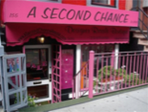 A Second Chance Resale's Upper East Side location  Image by Claire [http://fashionbombdaily.com/boutique-spotlight-a-second-chance-resale/]