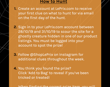 LePrix's Thrill of the Hunt Contest!