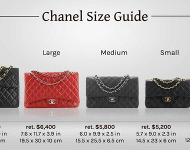 Sizing Up Chanel's Classic Flap Bags