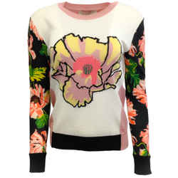 Stella McCartney Floral Wool Sweater