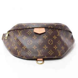 Auth Louis Vuitton Monogram Bum Bag Leather