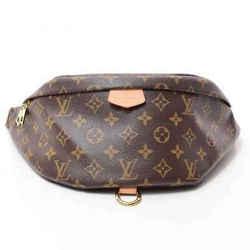 Auth Louis Vuitton Monogram Bum Bag Leather
