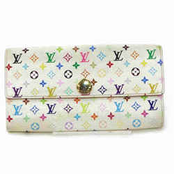 Louis Vuitton Multicolor White Sarah Long Wallet Portefeuille 867364