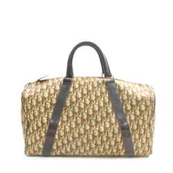 Christian Dior Brown Monogram Trotter Boston Duffle Bag 863447