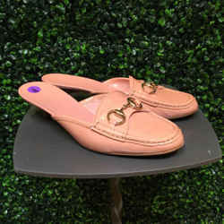 GUCCI Size 38/8 Pink Heels
