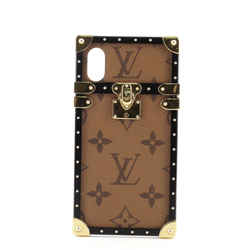 Eye Trunk with Strap for iPhone X Reverse Monogram Canvas